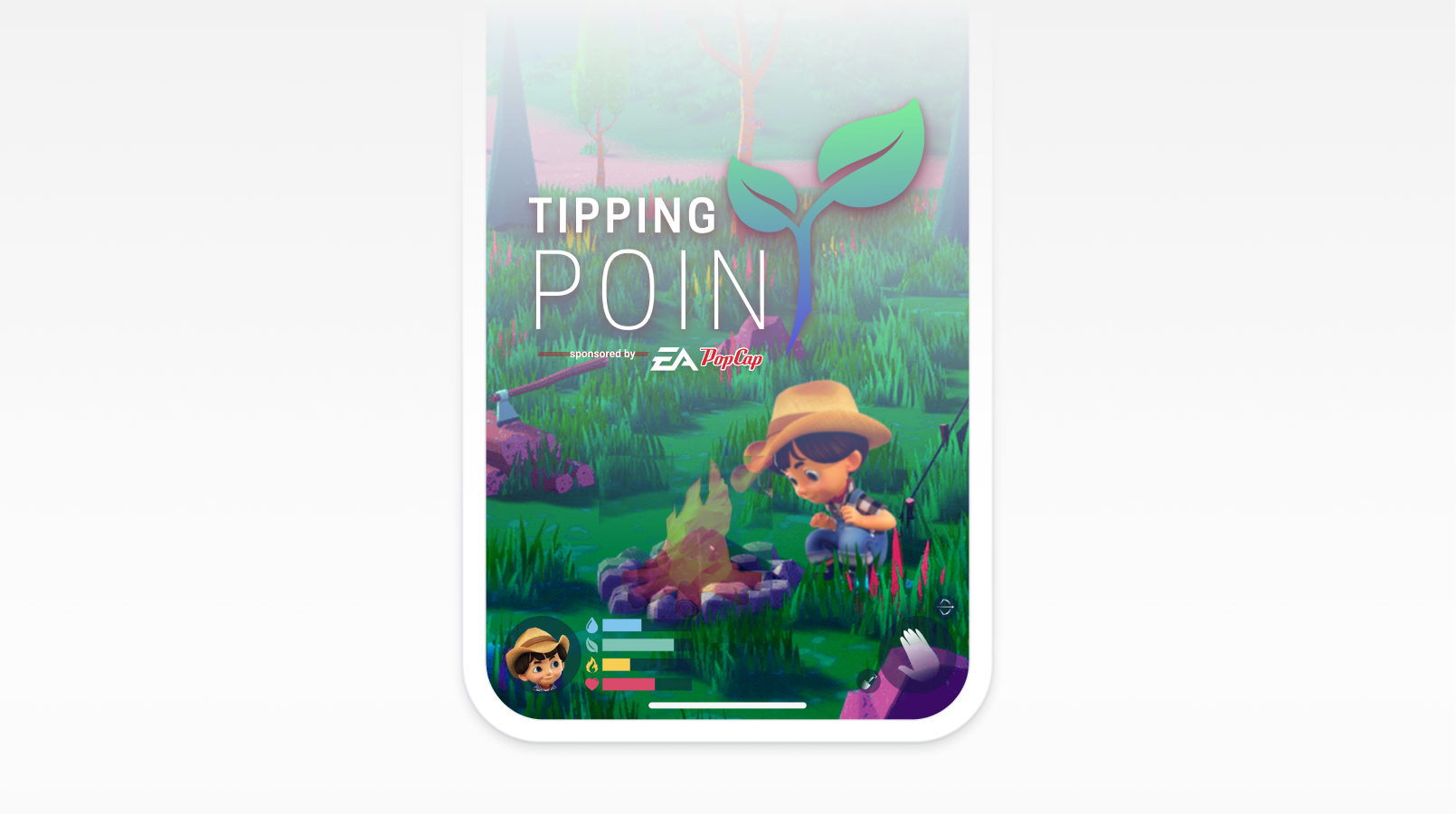 Tipping Point survival game concept